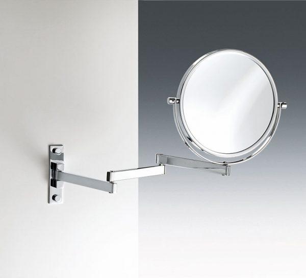 bad-accessoires-glas-edelstahl-spiegel-kosmetik-wandhalterung