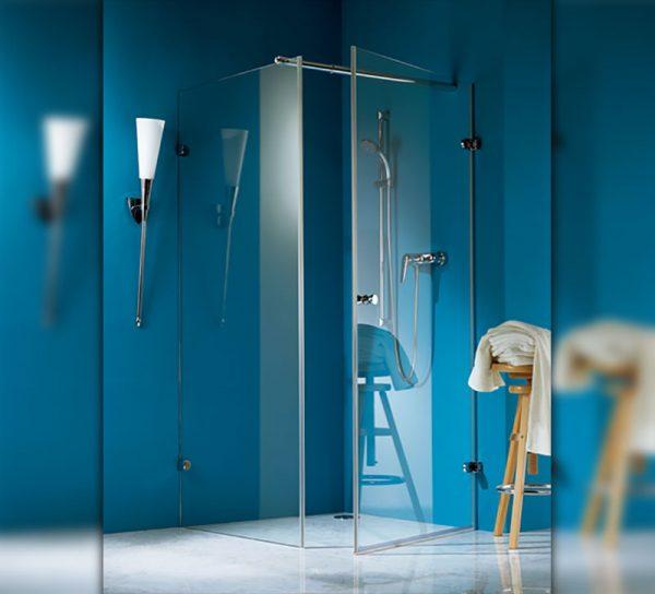 dusche-glas-klar-ganzglas-blau-eckig