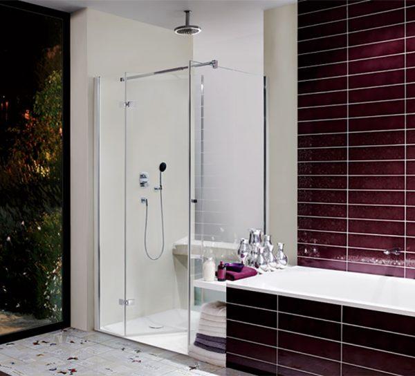 dusche-glas-klar-ganzglas-rot