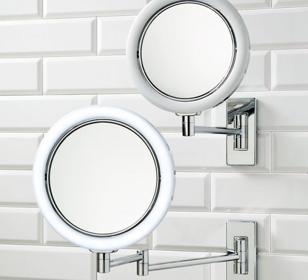kosmetikspiegel-glas-wandhalterung-rund-spiegel